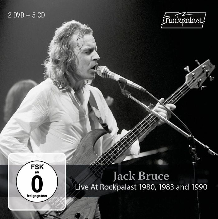 JACK BRUCE - Live At Rockpalast 1980 1983 & 1990 cover