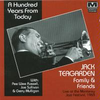 JACK TEAGARDEN - A Hundred Years From Today cover