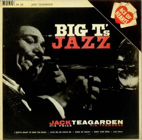 JACK TEAGARDEN - Big T's Jazz cover