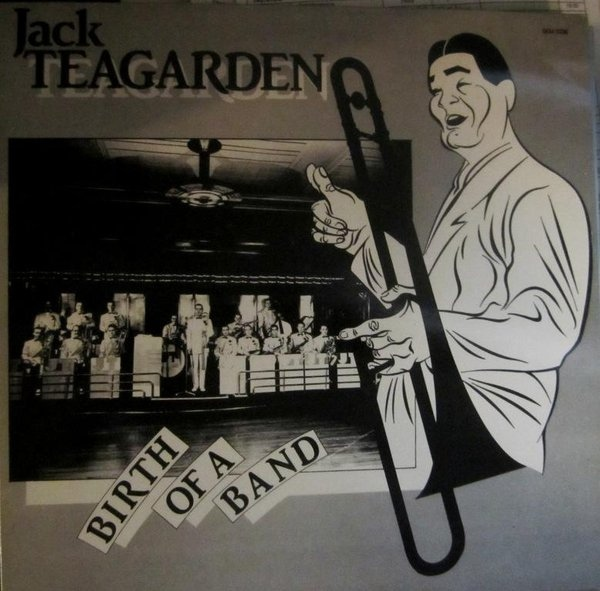 JACK TEAGARDEN - Birth Of A Band cover