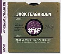JACK TEAGARDEN - Meet Me Where They Play the Blues - Original Long Play Albums #16 cover