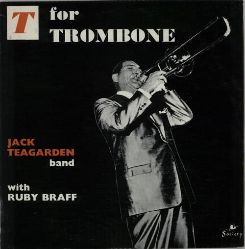 JACK TEAGARDEN - T For Trombone cover