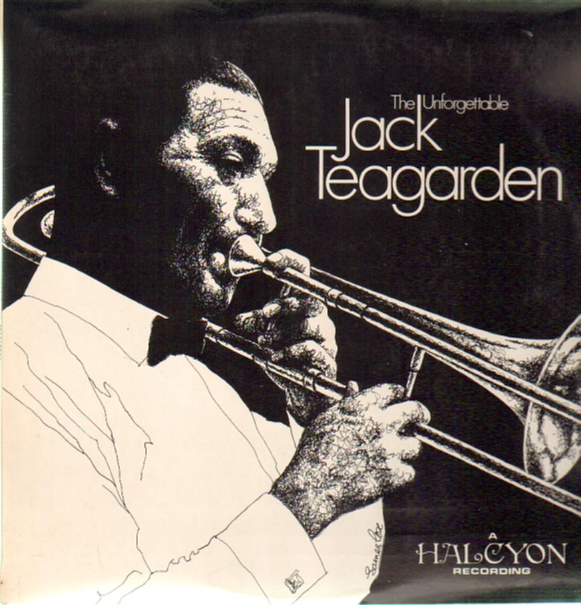 JACK TEAGARDEN - The Unforgettable Jack Teagarden cover