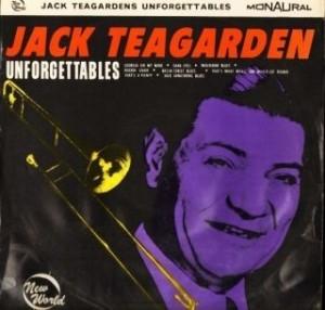 JACK TEAGARDEN - Unforgettables cover