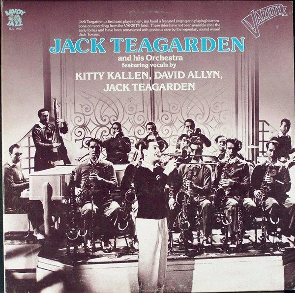 JACK TEAGARDEN - Varsity Sides cover