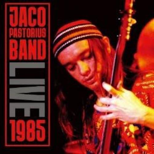 JACO PASTORIUS - Live 1985 cover