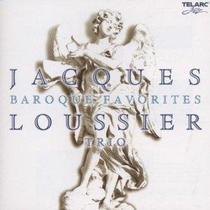 JACQUES LOUSSIER - Baroque Favorites: Jazz Improvisations cover