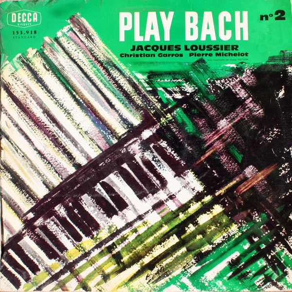 Jacques Loussier Pierre Michelot Christian Garros Play Bach Jazz Vol 3