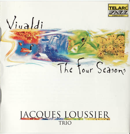 JACQUES LOUSSIER - Vivaldi: The Four Seasons cover
