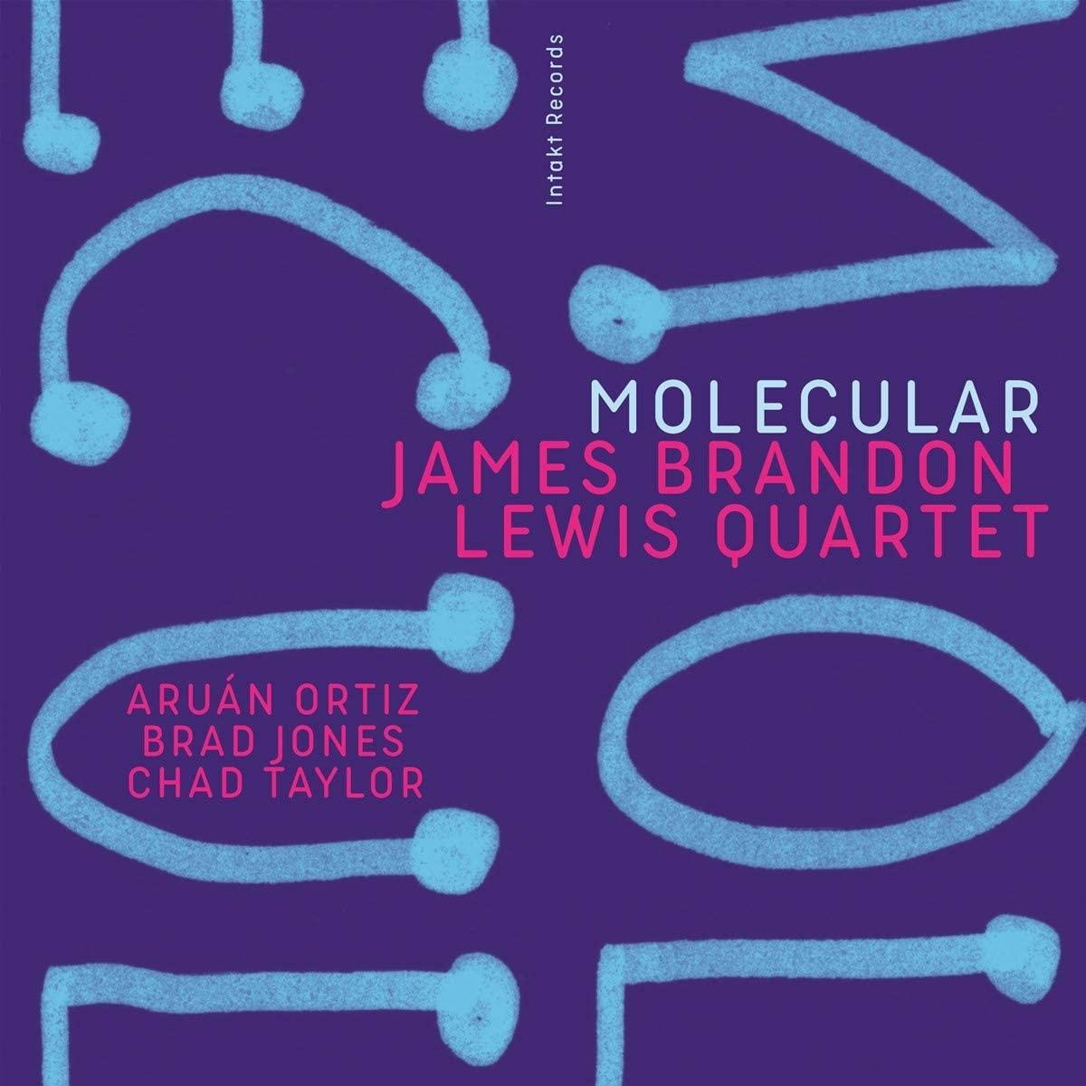 JAMES BRANDON LEWIS - James Brandon Lewis Quartet : Molecular cover