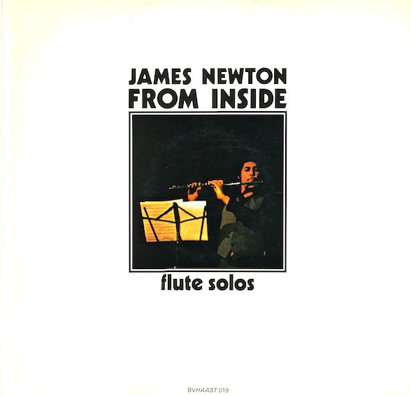 JAMES NEWTON - From Inside - Flute Solos cover