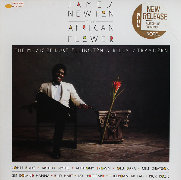 JAMES NEWTON - The African Flower (The Music Of Duke Ellington & Billy Strayhorn) cover