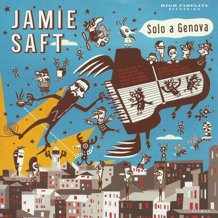 JAMIE SAFT - Solo A Genova cover