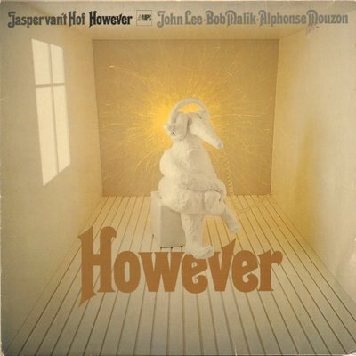 JASPER VAN 'T HOF - However cover