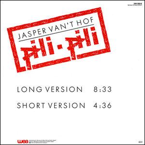 JASPER VAN 'T HOF - Pili Pili cover