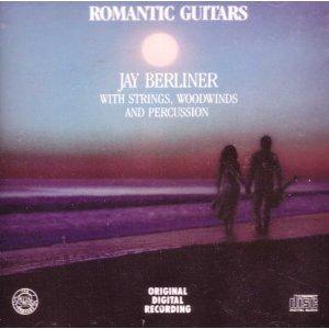 JAY BERLINER - Romantic Guitars cover