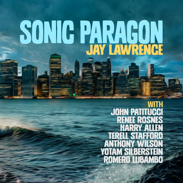 JAY LAWRENCE - Sonic Paragon cover