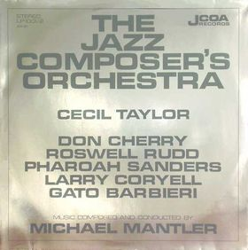 JAZZ COMPOSERS ORCHESTRA - The Jazz Composer's Orchestra cover