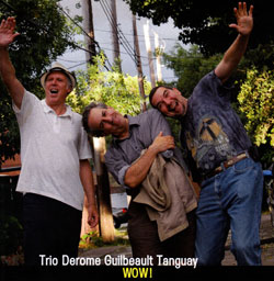 JEAN DEROME - Trio Derome Guilbeault Tanguay : Wow! cover