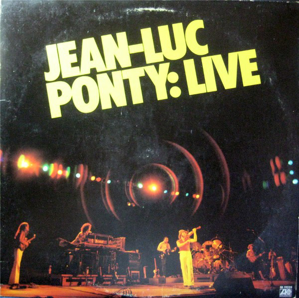 JEAN-LUC PONTY - Live cover
