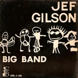 JEF GILSON - Jef Gilson Big Band cover