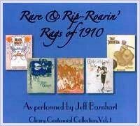 JEFF BARNHART - Rare & Rip-Roarin' Rags of 1910 cover