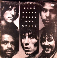 JEFF BECK - Rough and Ready cover