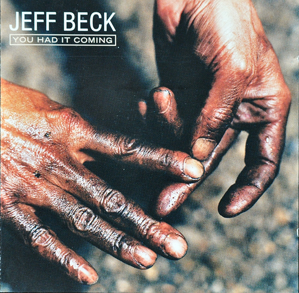 JEFF BECK - You Had It Coming cover