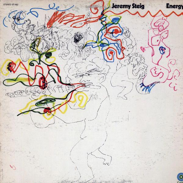 JEREMY STEIG - Energy (aka I Giganti Del Jazz Vol. 15) cover