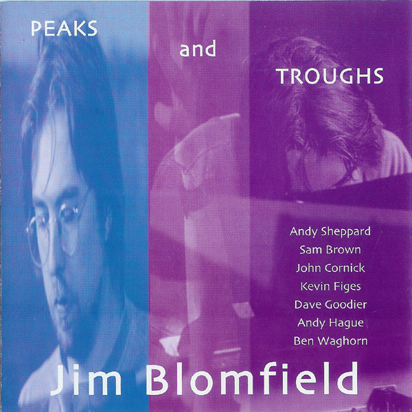 JIM BLOMFIELD - Peaks And Troughs cover