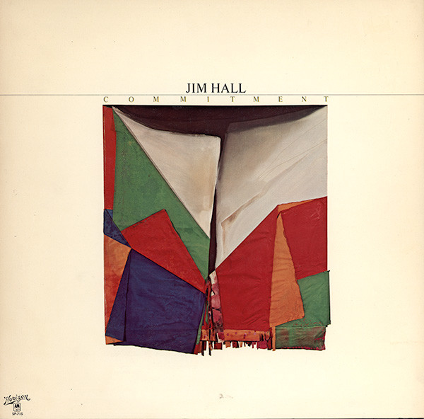 JIM HALL - Commitment cover
