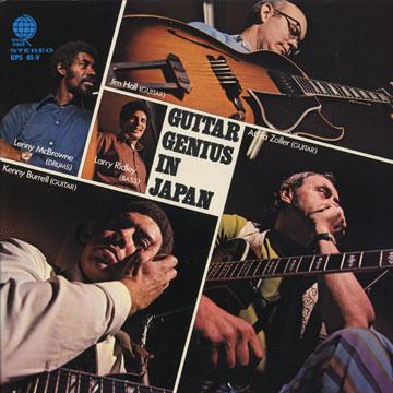 JIM HALL - Guitar Genius in Japan cover