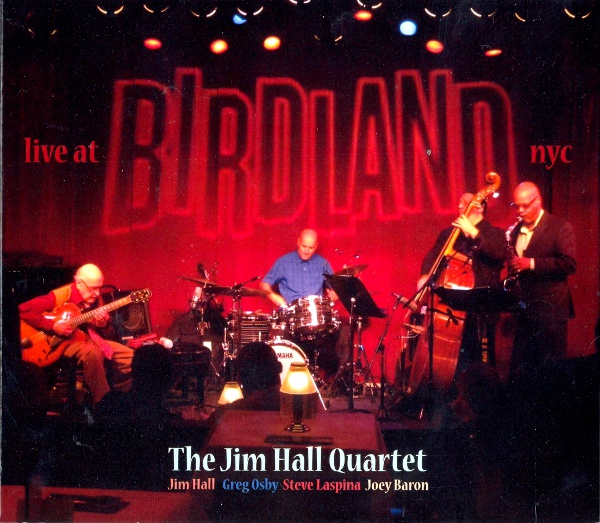 JIM HALL - Live At Birdland cover