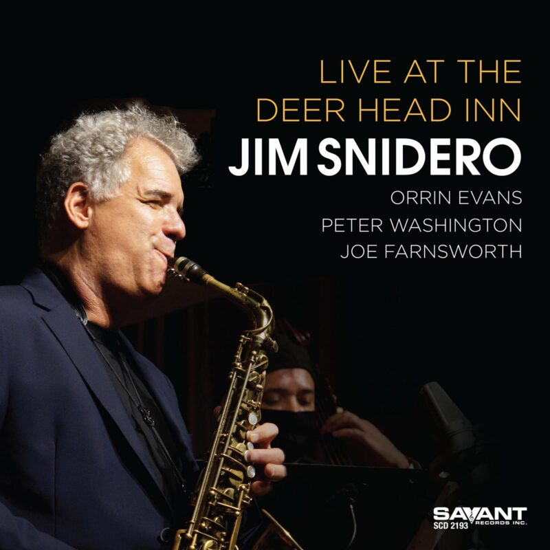 JIM SNIDERO - Live at the Deer Head Inn cover