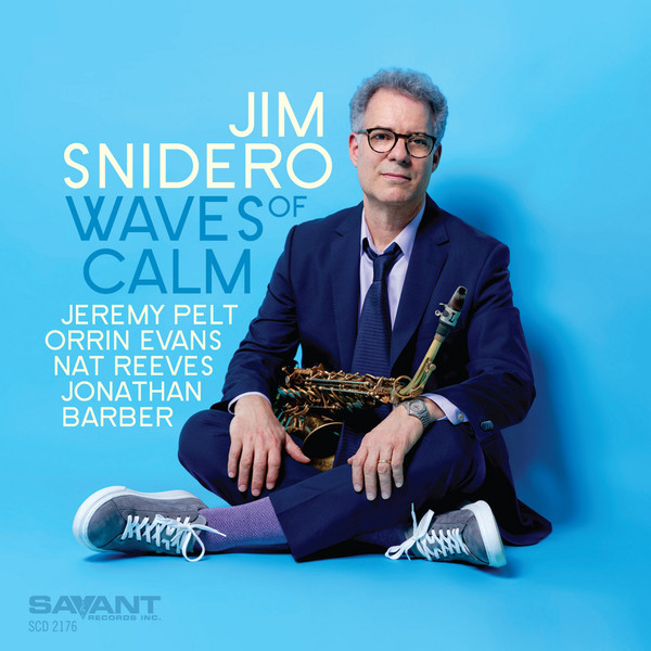 JIM SNIDERO - Waves Of Calm cover