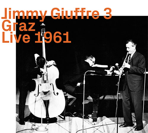 JIMMY GIUFFRE - Graz Live 1961 cover