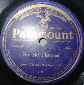 JIMMY O'BRYANT - Alabamy Bound / Hot Hot Hottentot cover