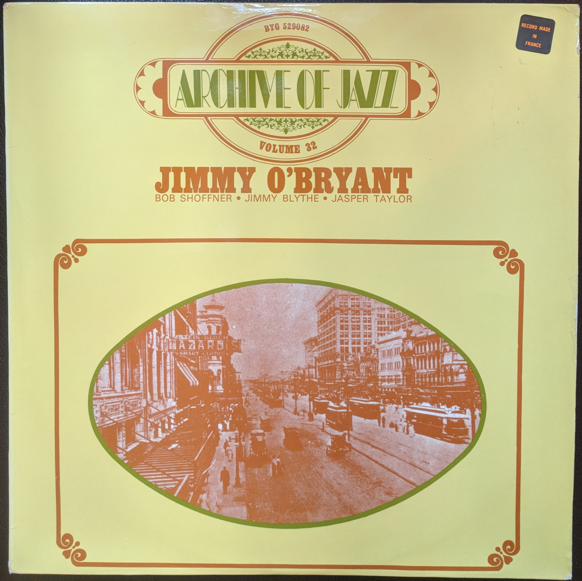 JIMMY O'BRYANT - Archive Of Jazz Volume 32 cover