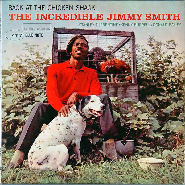 JIMMY SMITH - Back at the Chicken Shack cover