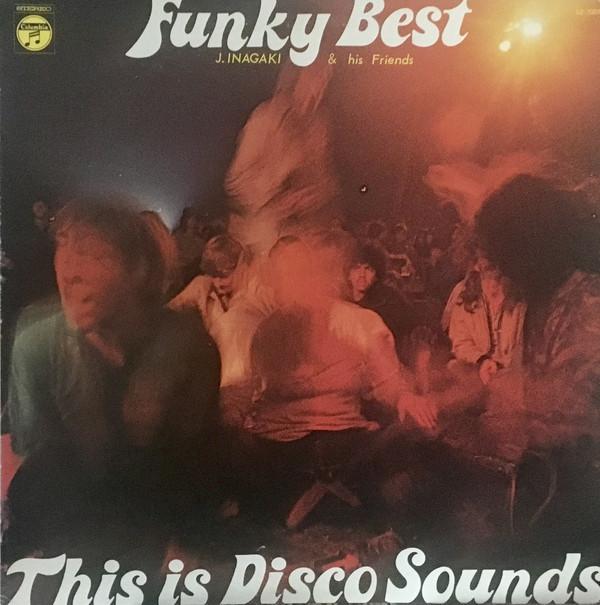 JIRO INAGAKI - Funky Best cover
