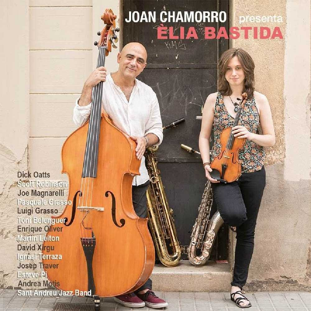 JOAN CHAMORRO - Joan Chamorro presenta Èlia Bastida cover