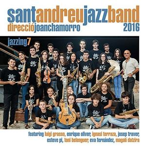 JOAN CHAMORRO - Sant Andreu Jazz Band And Joan Chamorro : Jazzing 7 cover