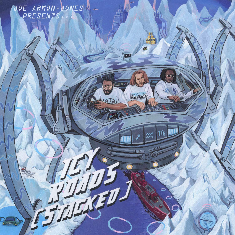 JOE ARMON-JONES - Icy Roads (Stacked) cover