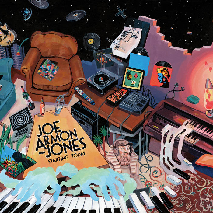 JOE ARMON-JONES - Starting Today cover