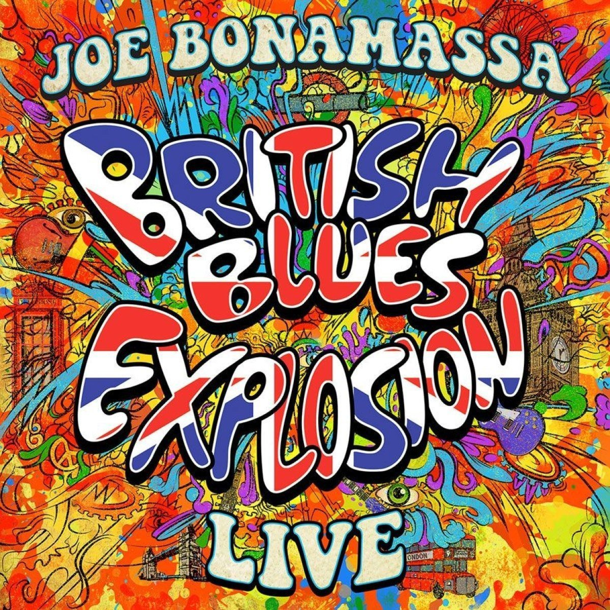 JOE BONAMASSA - British Blues Explosion Live cover