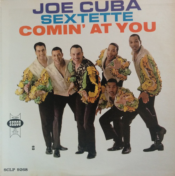 JOE CUBA - Comin' At You cover