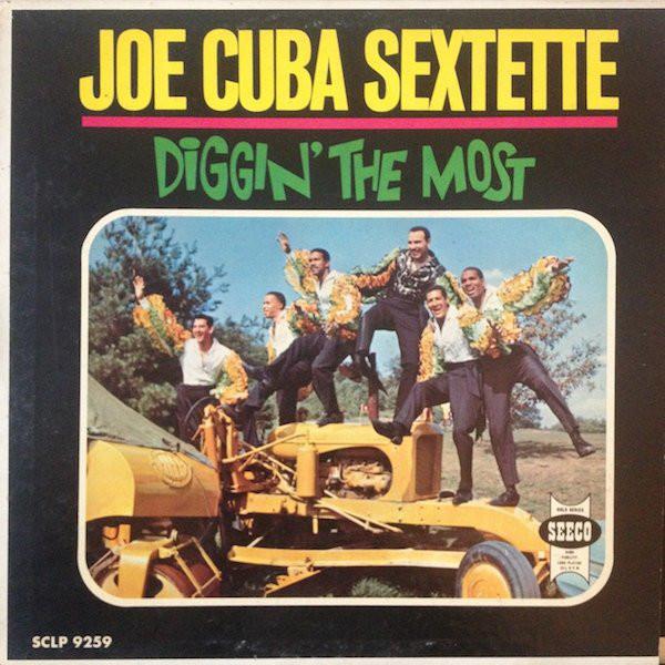JOE CUBA - Diggin' The Most cover