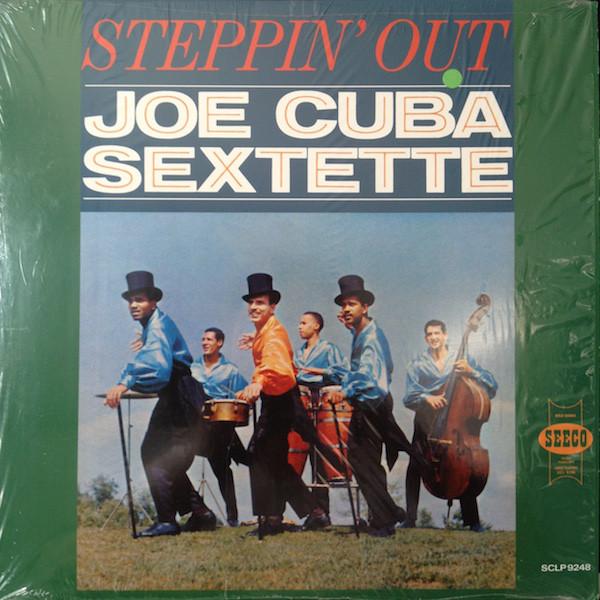 JOE CUBA - Steppin' Out cover