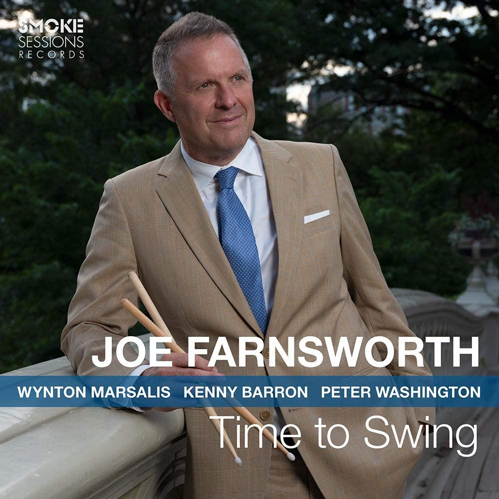 JOE FARNSWORTH - Time to Swing cover