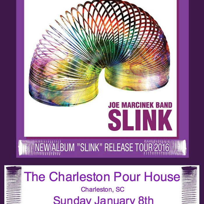 JOE MARCINEK - Live at the Charleston Pour House 1/8/17 cover